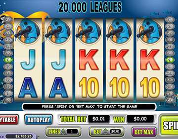 20,000 Leagues Slot Mobile