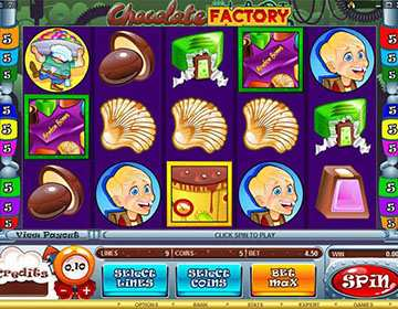 Chocolate Factory Slot Mobile