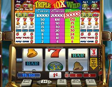 Triple 10x Wild Slot Mobile