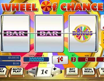 Wheel Of Chance Slot Mobile